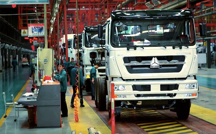 Производство и продажи китайских коммерческих автомобилей в мае 2016 года