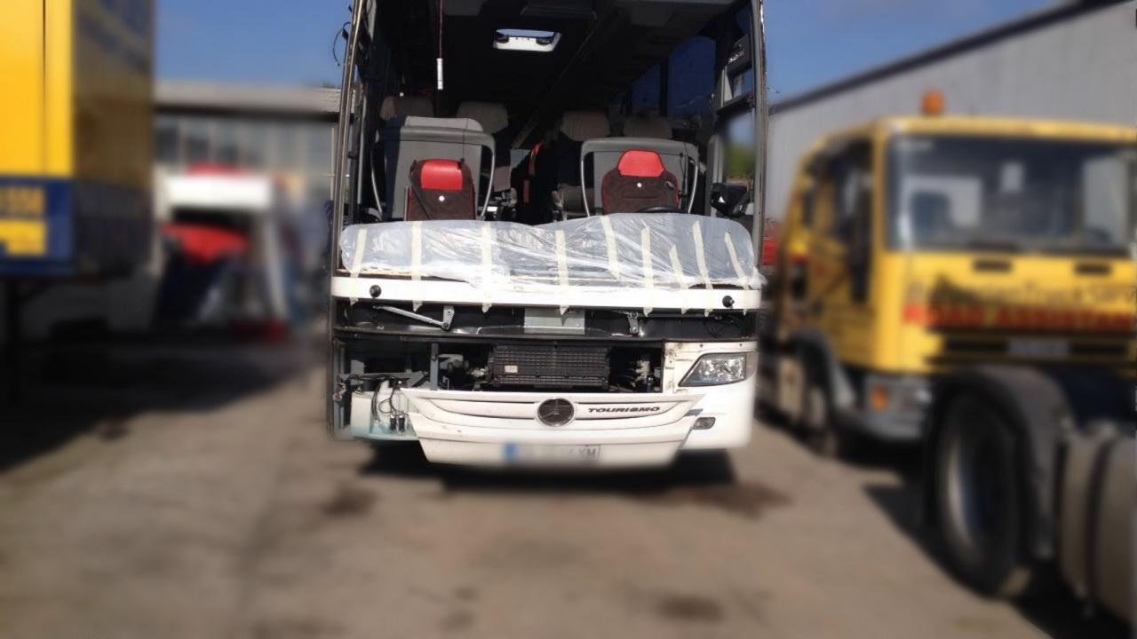 ремонт автобуса Мерседес