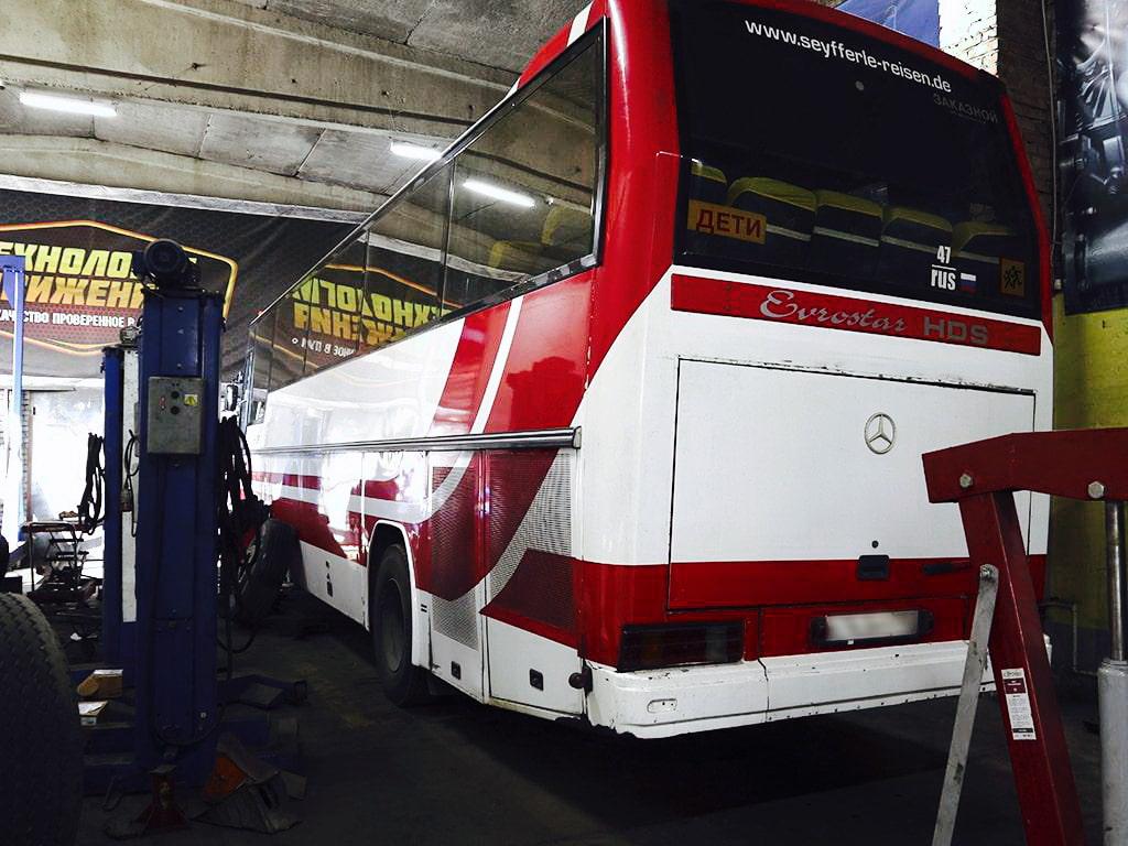 проблемы в автобусах Mercedes