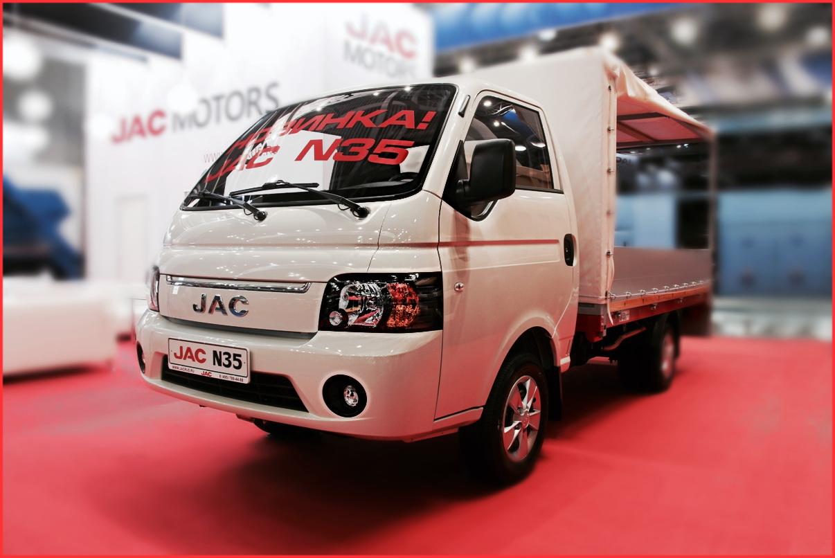грузовой автомобиль Jac N-35