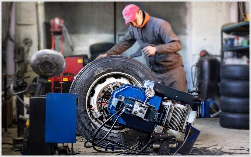 Цена ремонта грузовых шин