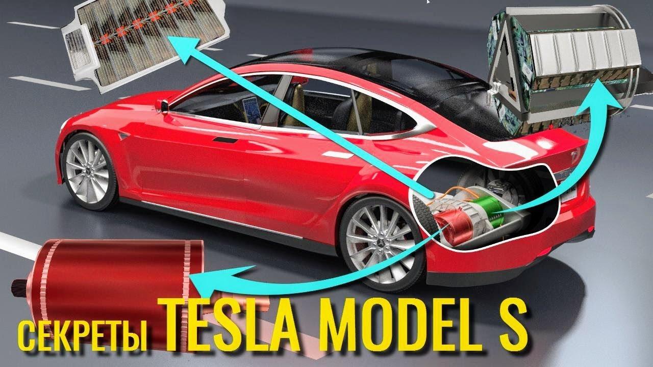 работа мотора Тесла